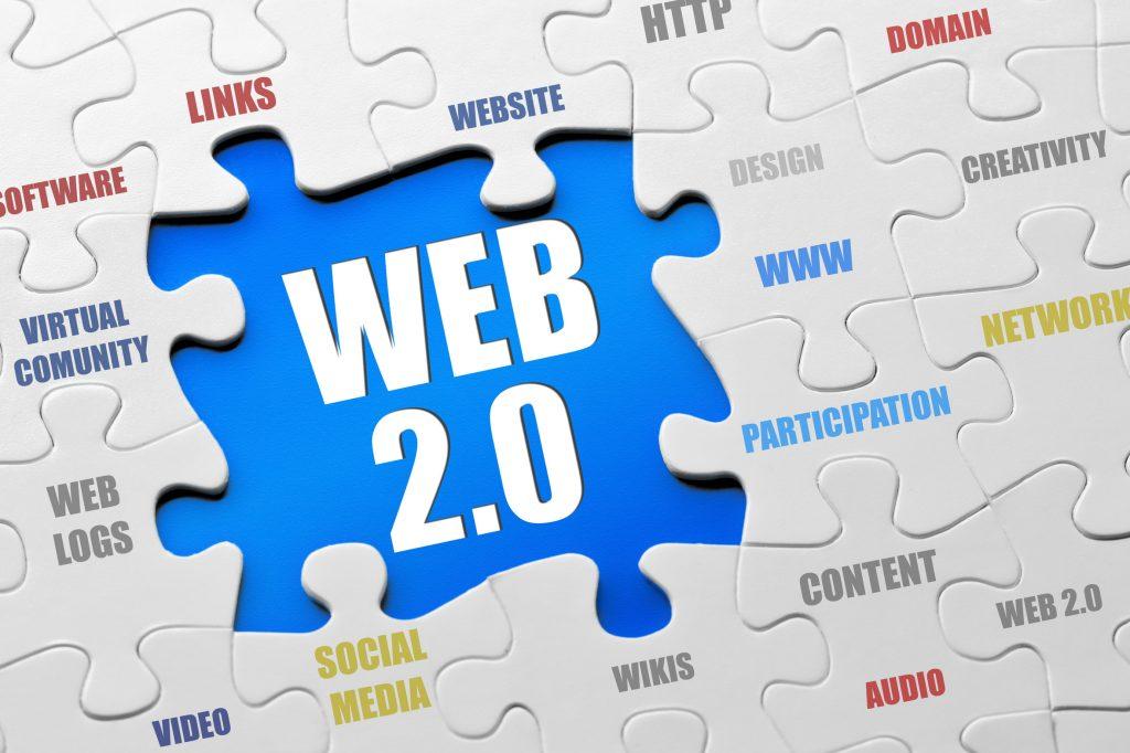 وب سایت های web 2.0 نسل جدید در طراحی سایت