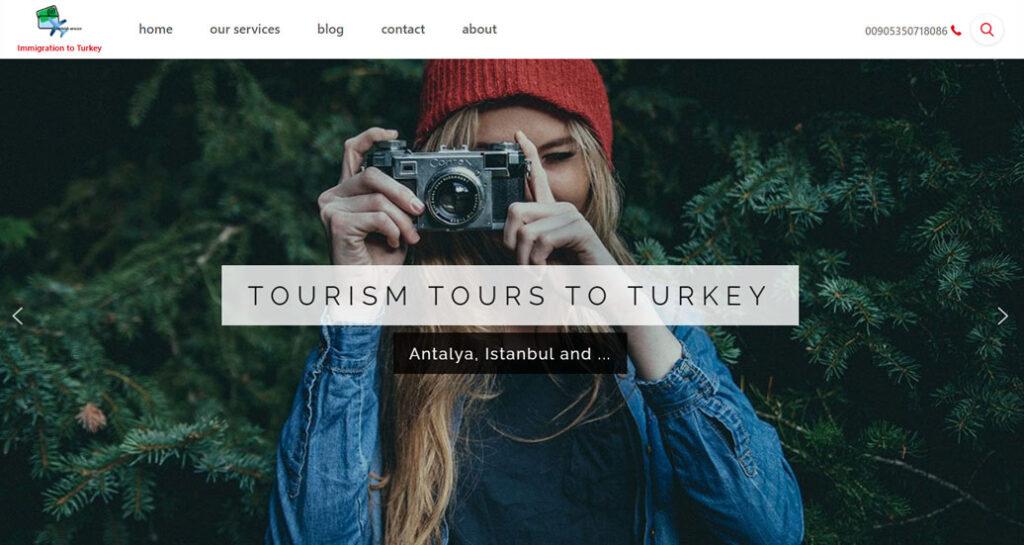 وبسایت turkisharazco